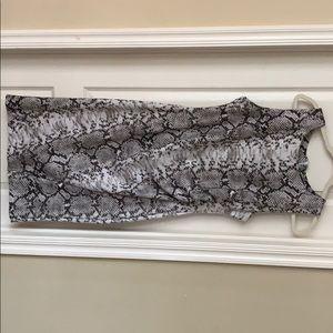 Dresses & Skirts - Snake skin dress